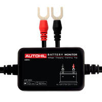 Autohil ABM2 12V Bluetooth Battery Voltmeter + Tester